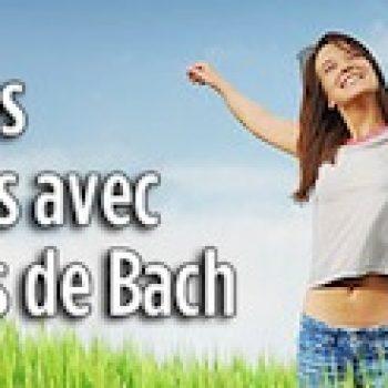 La femme enceinte et les fleurs de Bach
