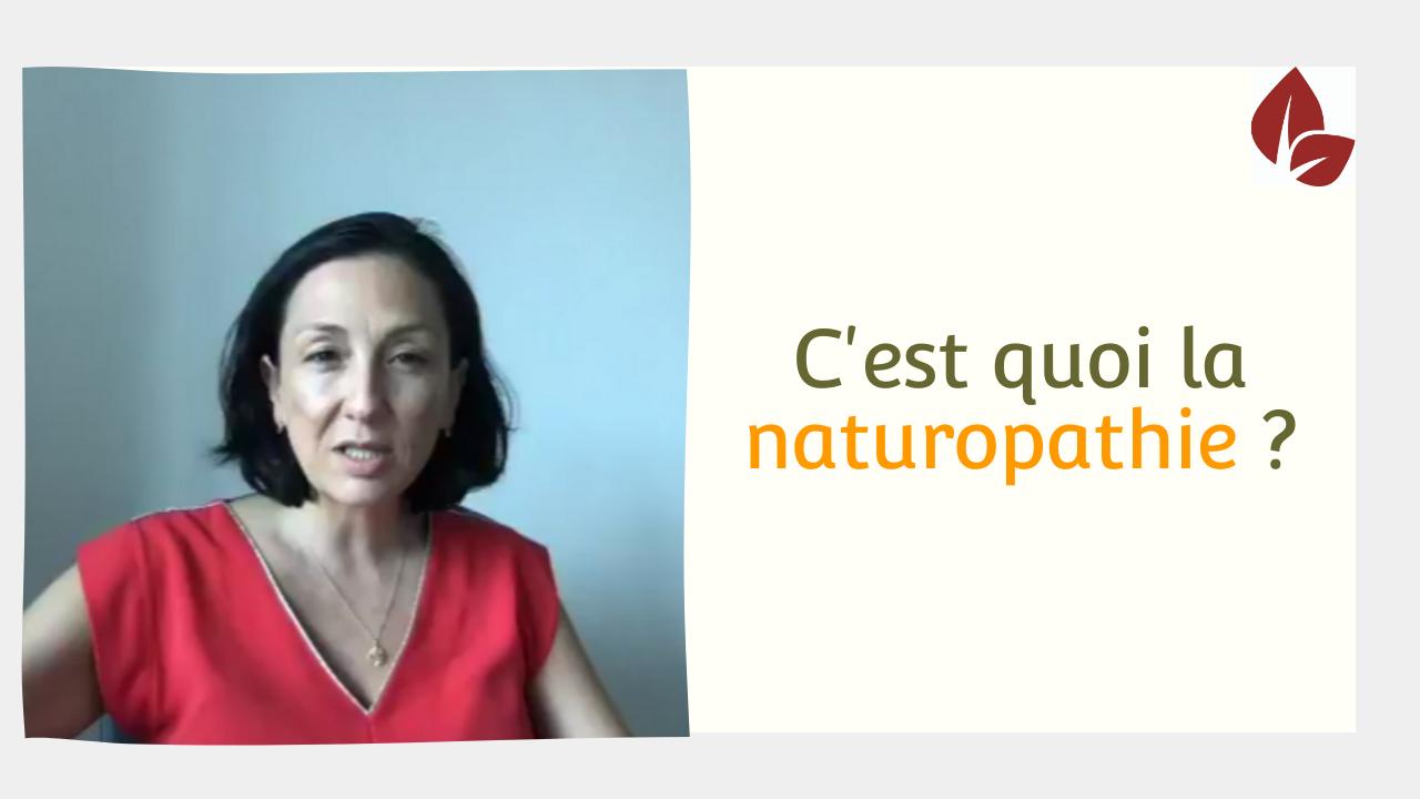 La naturopathie kesako ?
