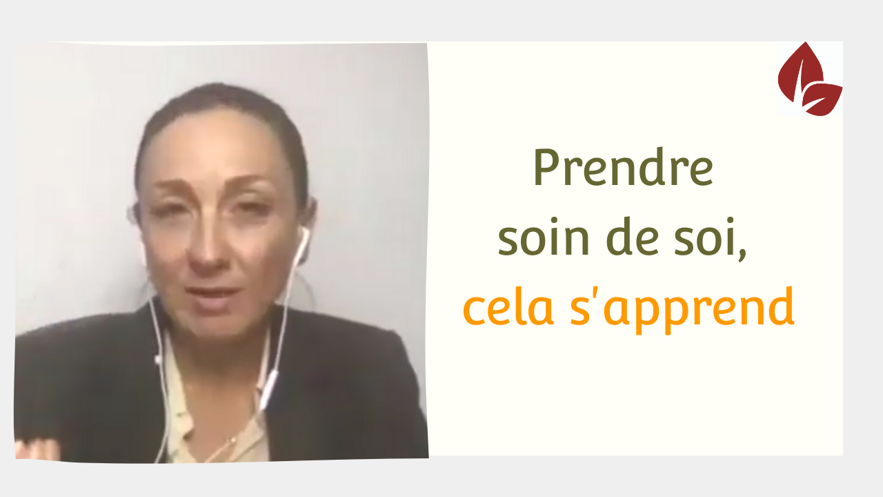 You are currently viewing Prendre soin de soi cela s'apprend